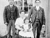 86-fam 1905/1910 Joe Barnard and wife Mary, son Willis