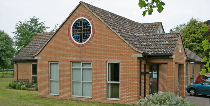 Haslingfield Methodist Church. Photo by Steve Day