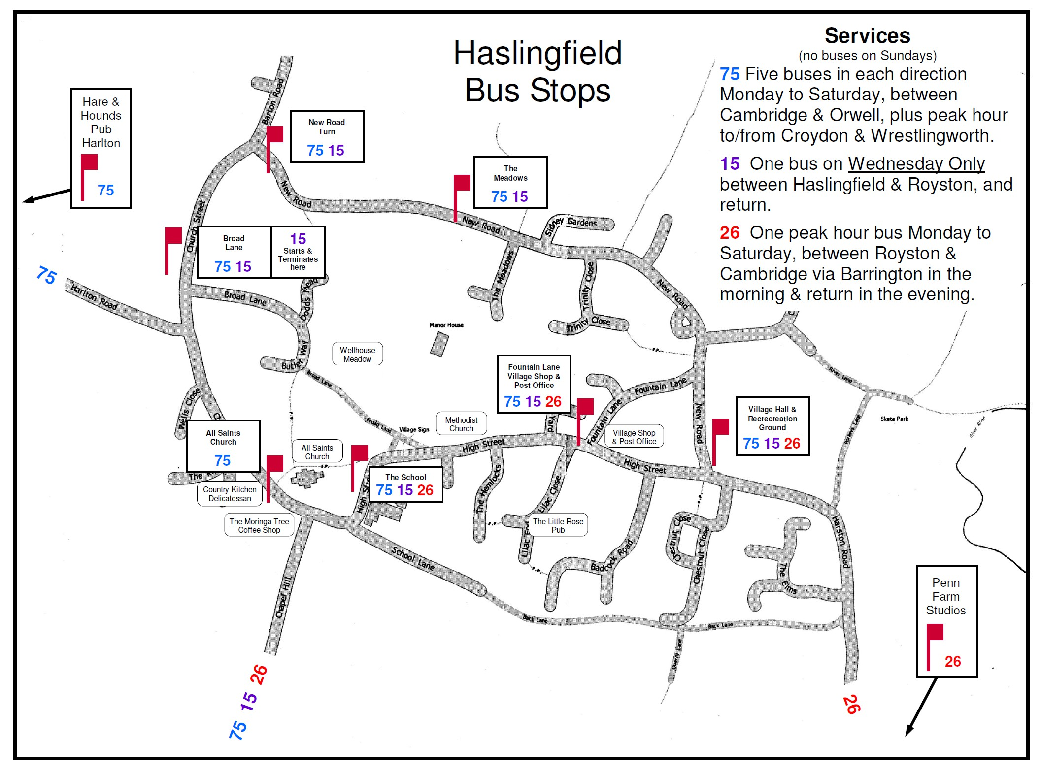HaslingfieldVillagecouk Travel Transport