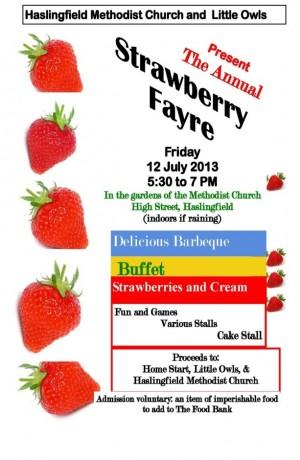 Strawberry Fayre Poster 2013medium