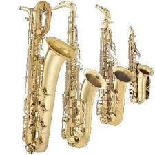 4 saxaphones