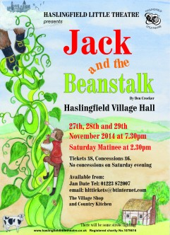 jack and the beanstalk poster revised version