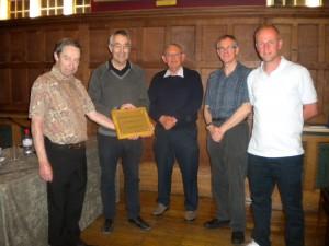Tennis Club of the Year Presentation