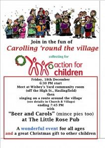Carolling poster