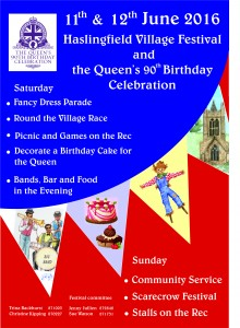 queens second 90th birthday poster