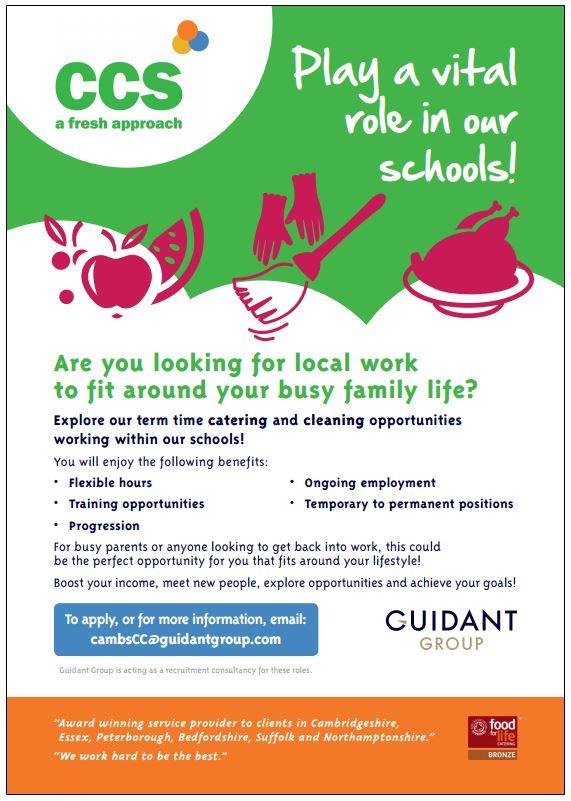 Cambridge Council Jobs in Schools