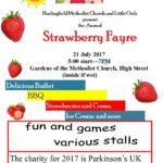 Strawberry Fayre 2017